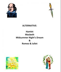 Alternative Shakespeare Scripts